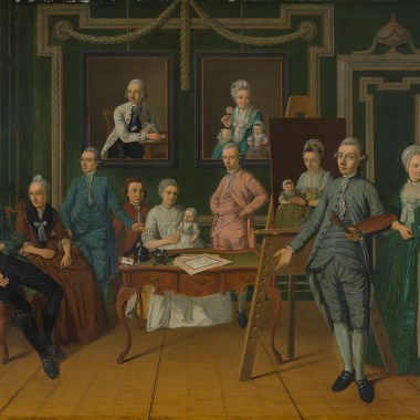 The Overbeek family, 1784