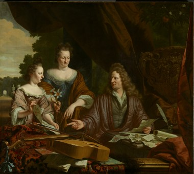 The Neufville family, 1696
