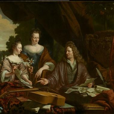 The Neufville family, 1696