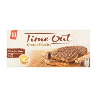 LU Time Out granenbiscuits melkchocolade