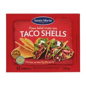 Santa Maria Taco schelpen 12 stuks