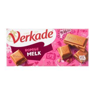 Verkade chocoladereep romige melk