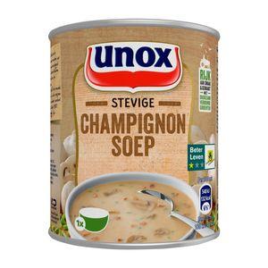 Unox Soep in blik stevige champignonsoep 300ml