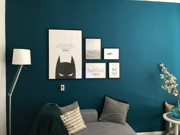 Dutch Gigil muur blauw posters 1