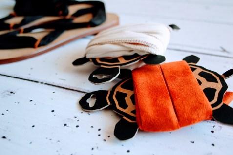 Raramuri sandalen black ribbon 6