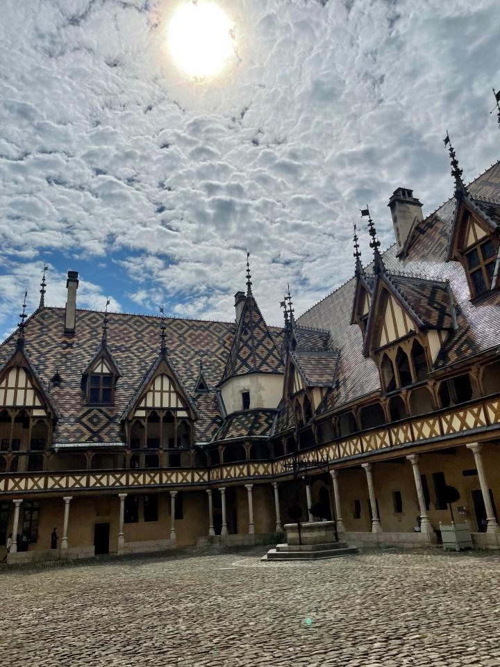 De Franse stad Beaune