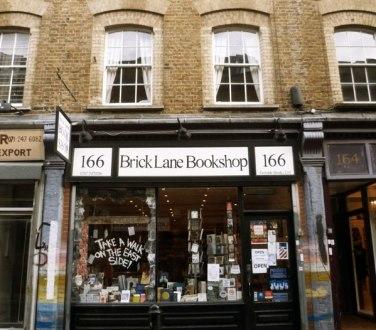 Brick Lane bookshop