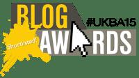 UK Blog Awards 2015 - Shortlisted Logo - Small