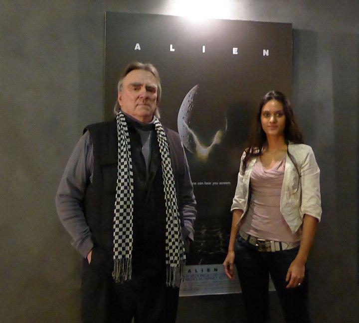 Brian Johnson SFX master // Dutch Girl in London
