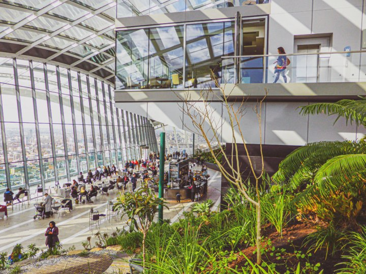 Visit Sky Garden London, a Spectacular Free Viewing Point