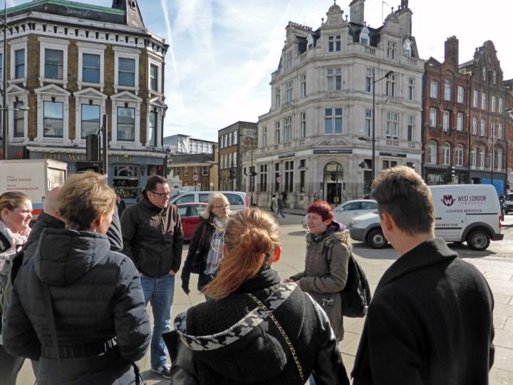 Camden street art tour guide Nelly Balazs