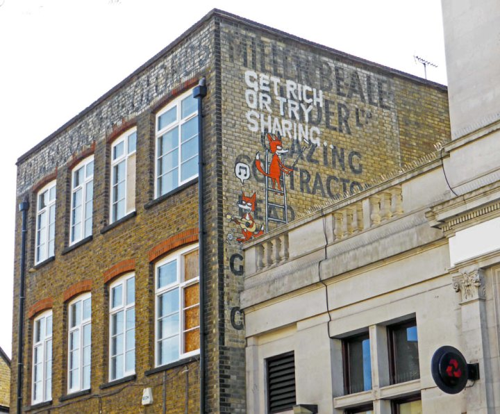 Get rich or try sharing street art in Camden