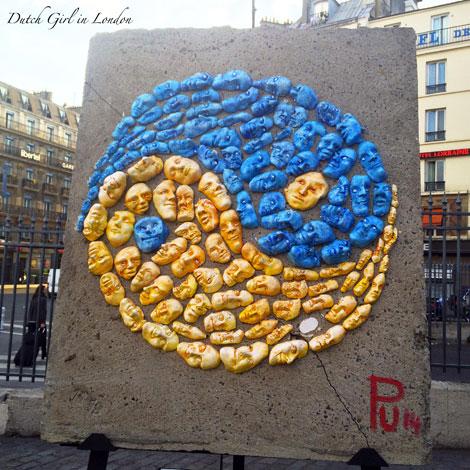 Art Liberte Paris Gare de l'Est Peter Unsicker