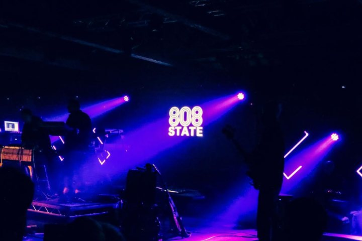 808 State live at LEAF Festival in London