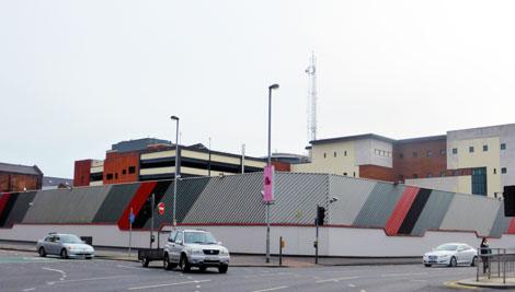 police-station-belfast-wall