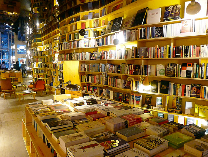Libreria-bookshop-interior-London