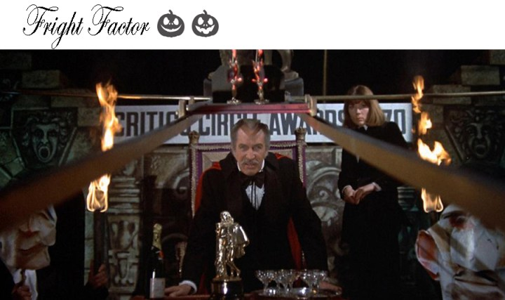 Theatre of blood Vincent Price movie horror Halloween