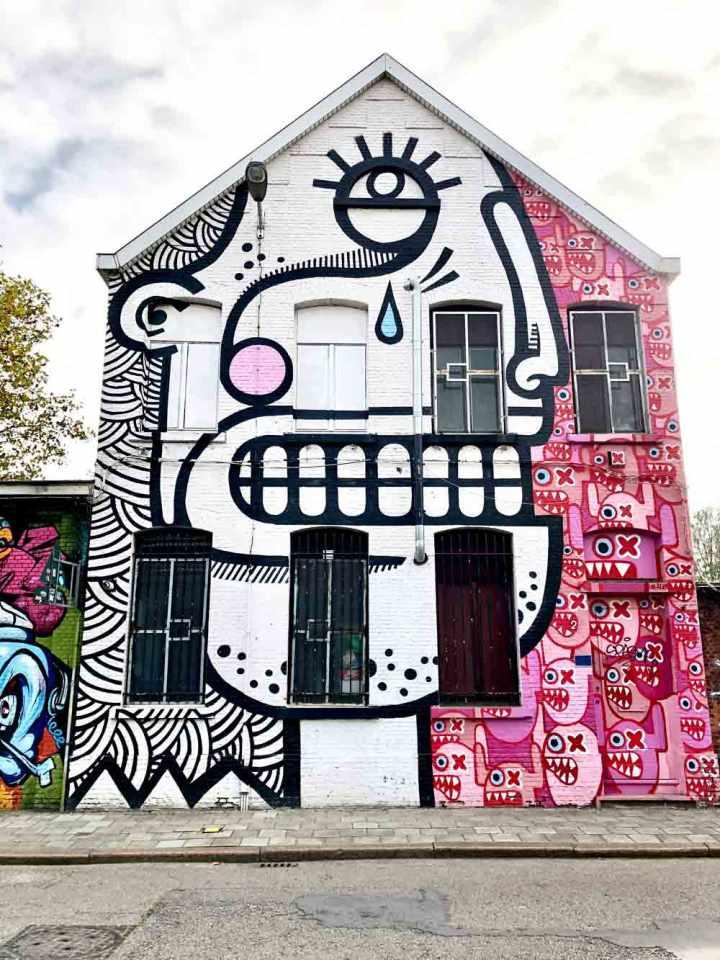 street art Antwerp // Dutch Girl in London