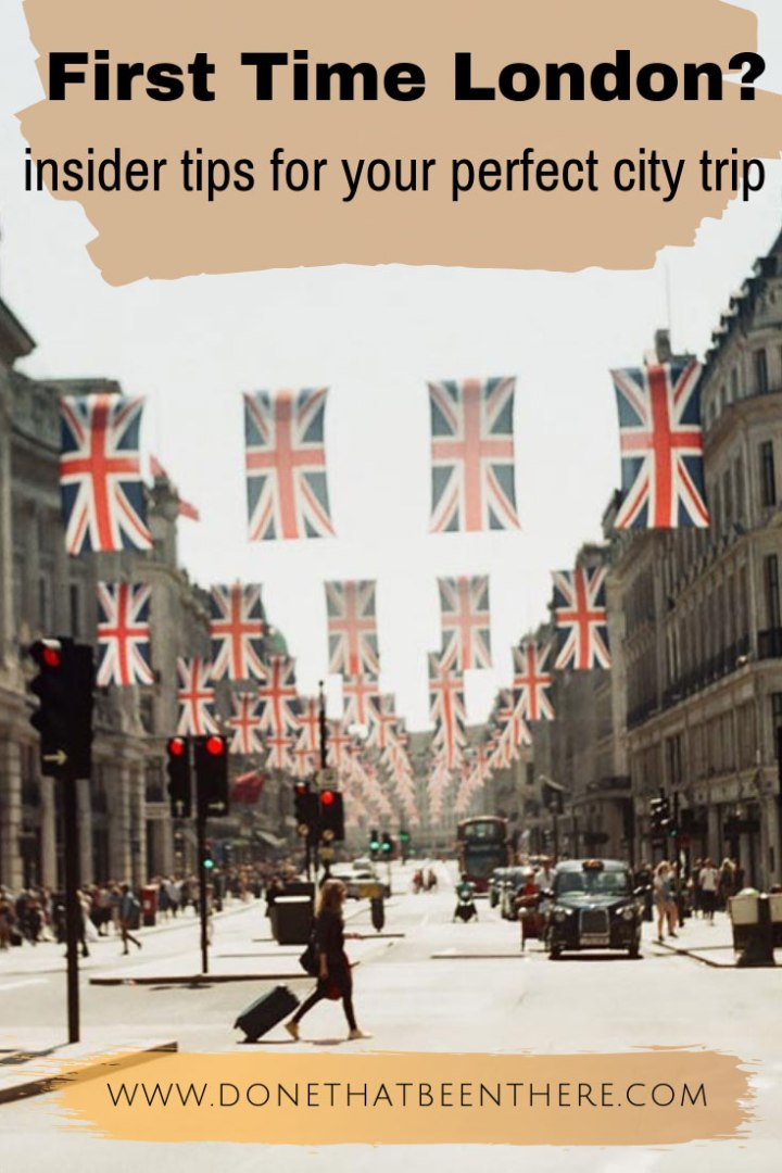 Travel guide for your first visit to London