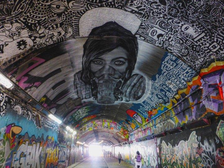Banksy Tunnel London