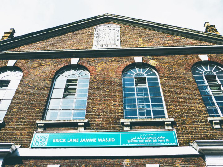 the mosque on Brick Lane was built as a Protestant chapel