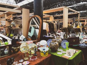 On Thursday there is an Antiques and Vintage market at the Old Spitalfields Market in Shoreditch, London