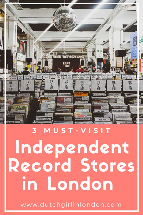 Save this article about the 3 best independent record stores in London on Pinterest