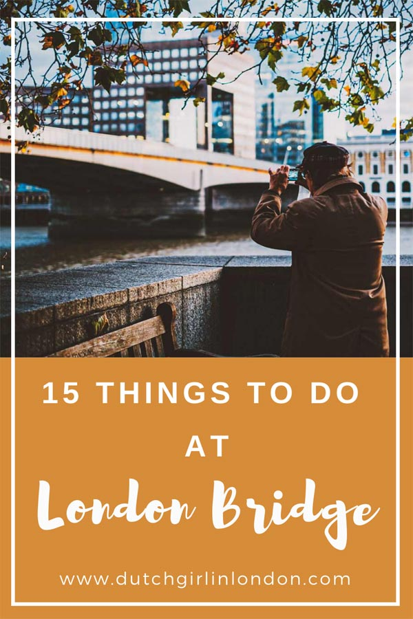 Pinterest image for best things to do at London Bridge