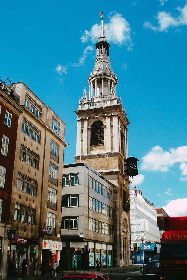St Mary-Le-Bow, London