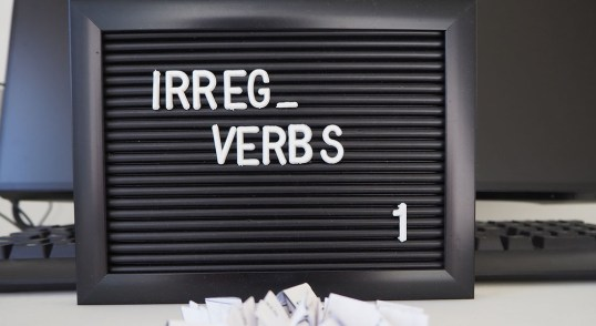 Irregular verbs in Dutch