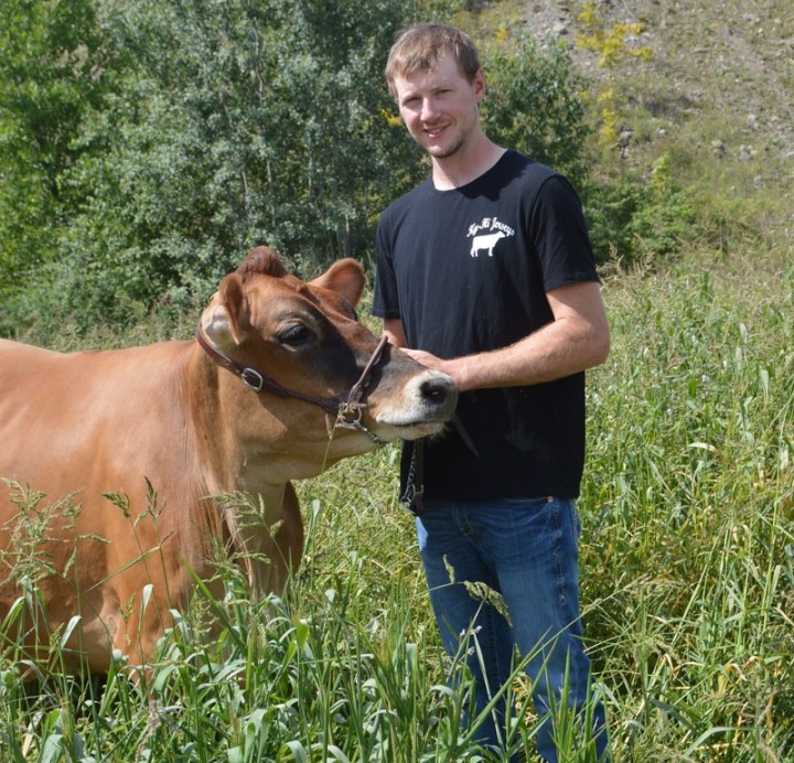 New York junior Dylan Lehr won the 2020 Pot O'Gold Production Contest with Dutch Hollow Monument Cherry, a heifer he purchased from Dutch Hollow Farm in 2017.