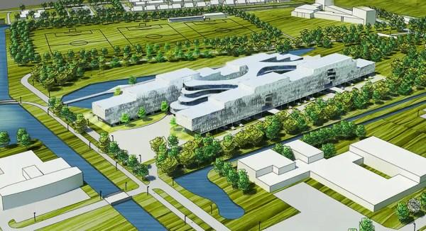 architectural design and landscape