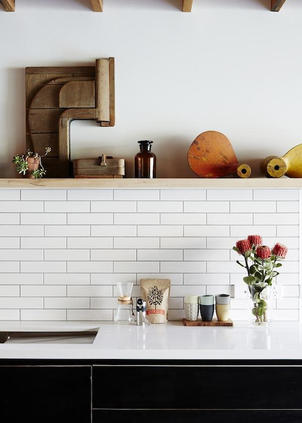 Duplex kitchen backsplash inspiration