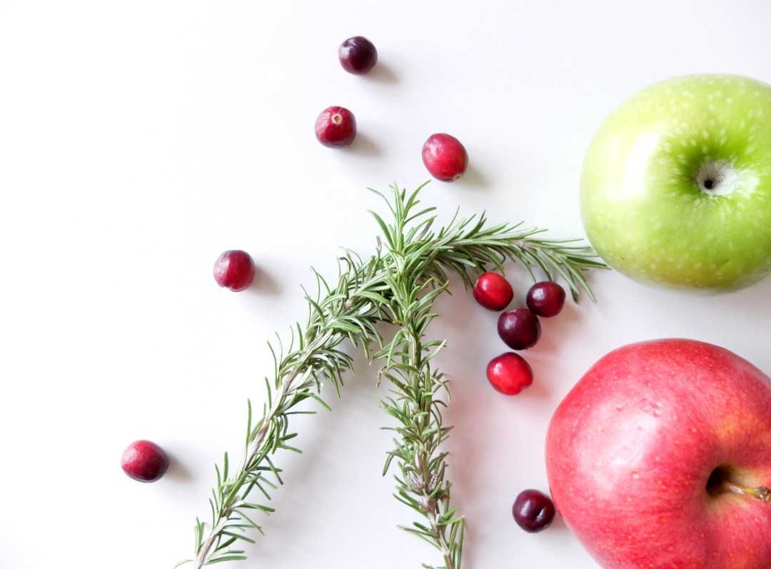 Cranberry Apple White Sangria with Rosemary | Dutchie Love