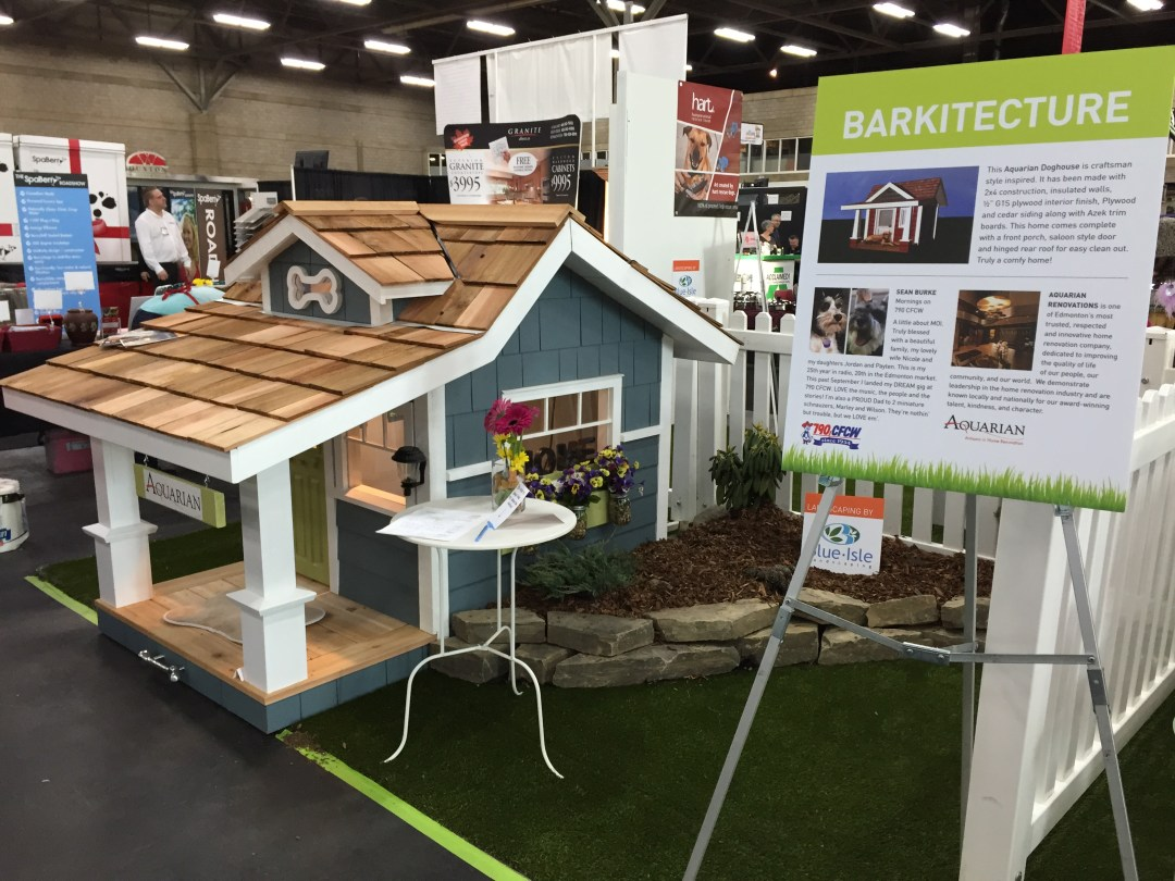 Edmonton Renovation Show Dog House Contest