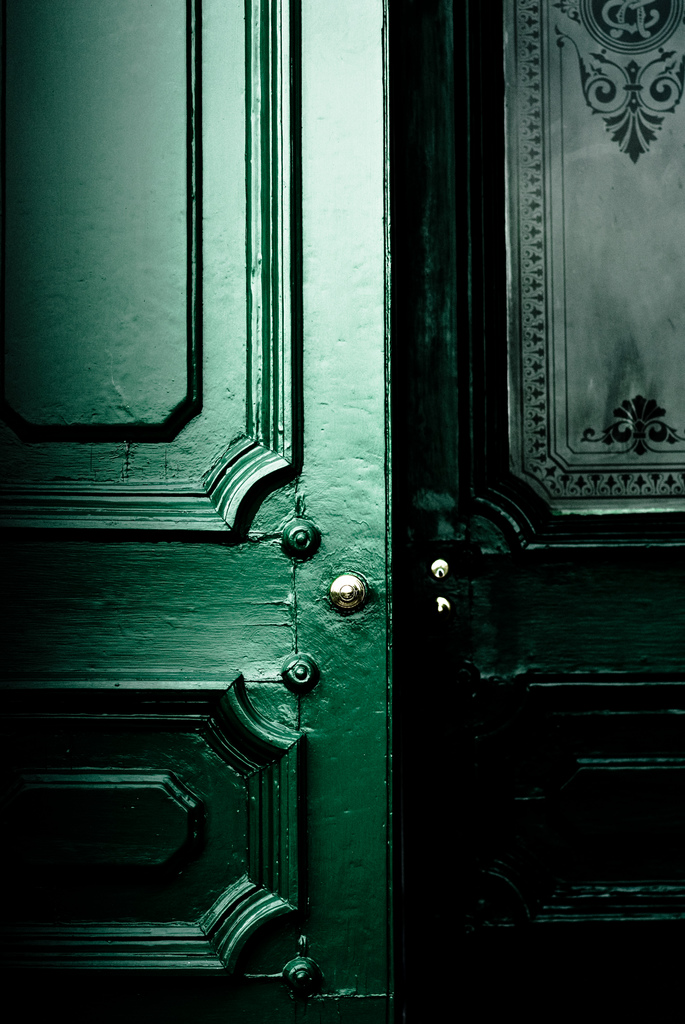 Emerald Green Front Door Inspiration | Dutchie Love