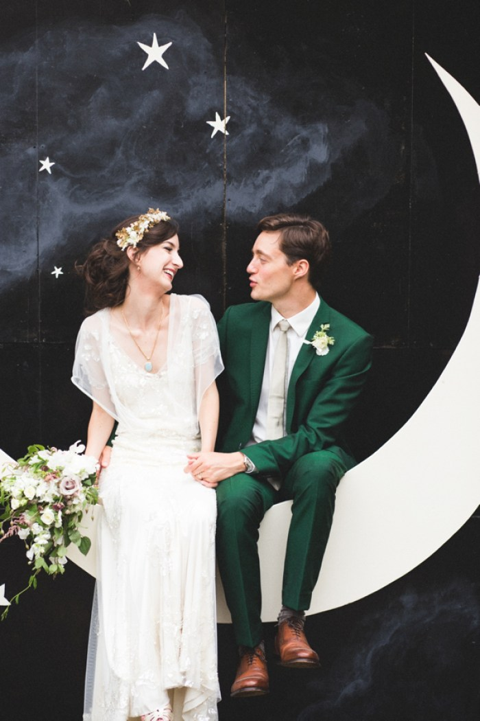 Emerald Green Wedding Inspiration | Dutchie Love