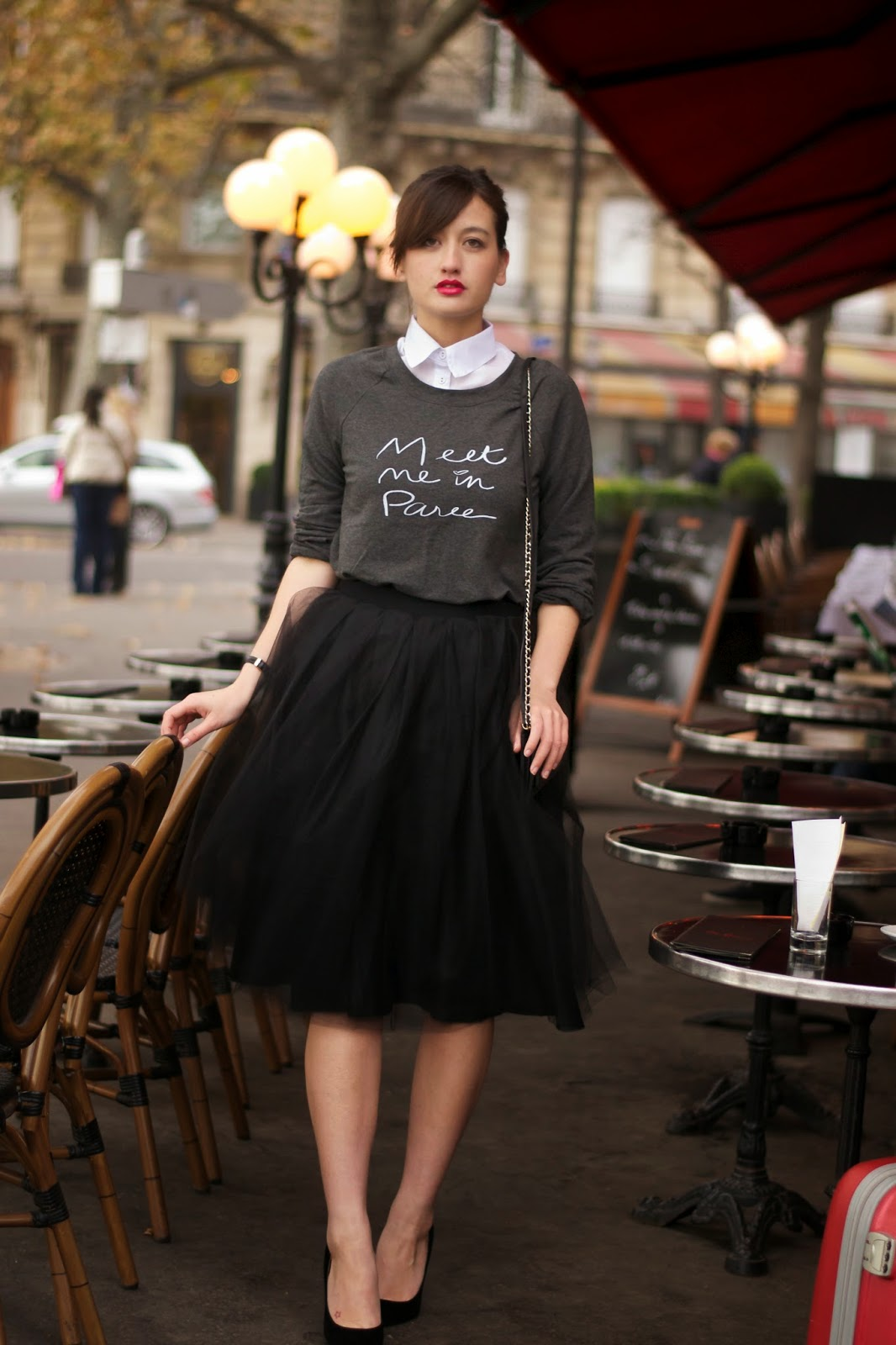 Tulle Midi Skirt with Layers Inspiration | Dutchie Love