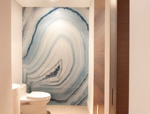 Agate Marble Bathroom Wall | DutchieLove