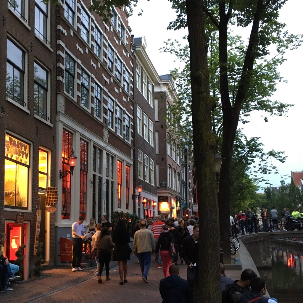 The Red Light District in Amsterdam, Netherlands - Dutchie Love