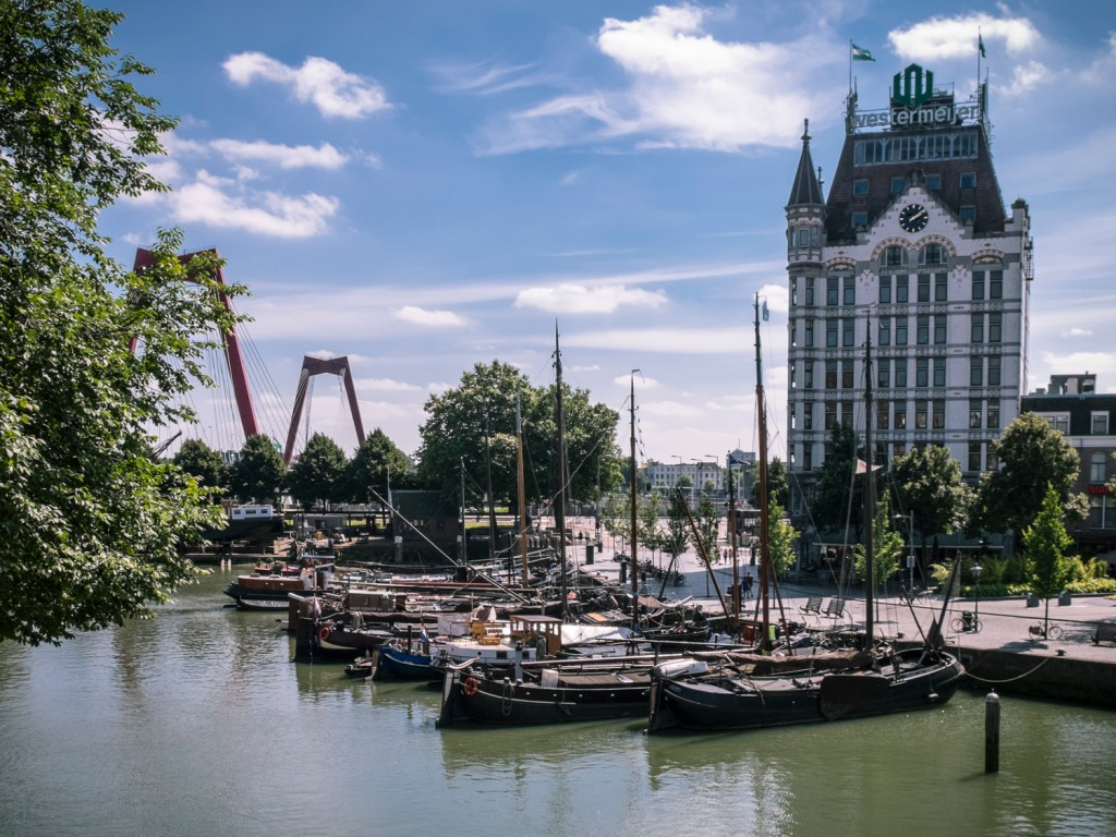 Old Harbour Rotterdam Dutchie Love