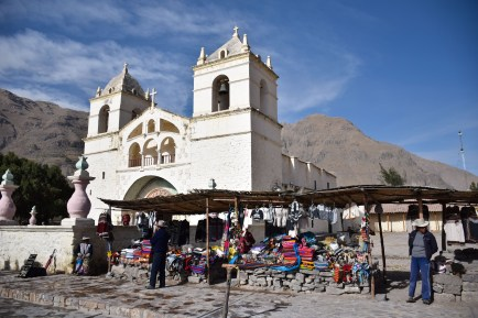 A small village in Colca Canyon