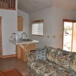 Luxury Cabins Door Kitchen