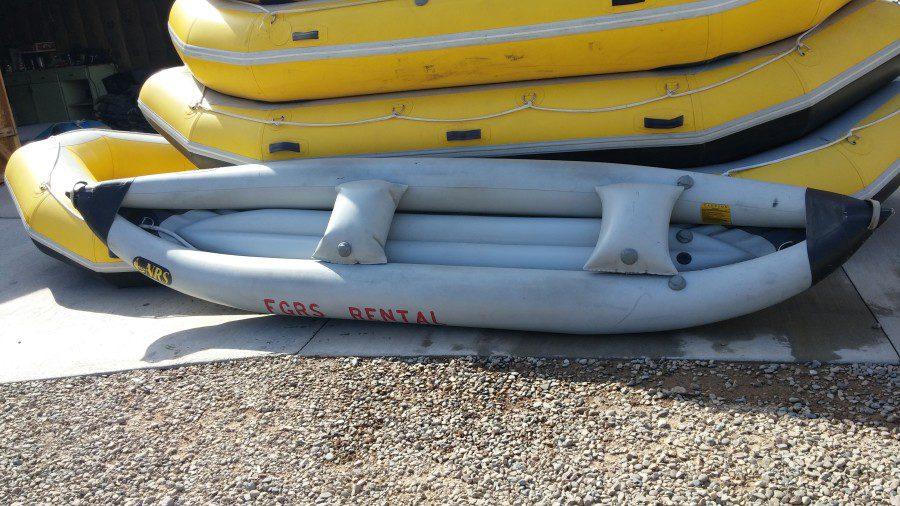 Rafting 2 Person Kayak Dutch John Resort