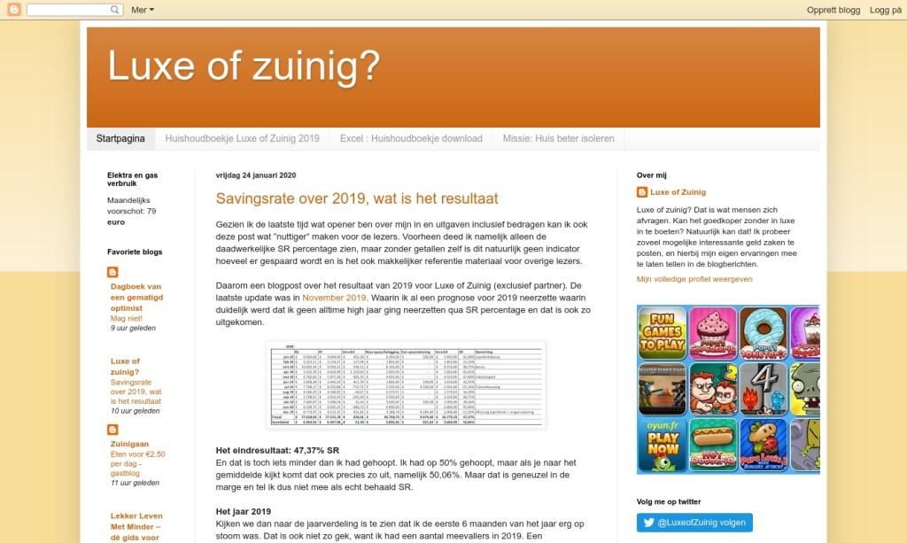 Screencapture Luxe of Zuinig