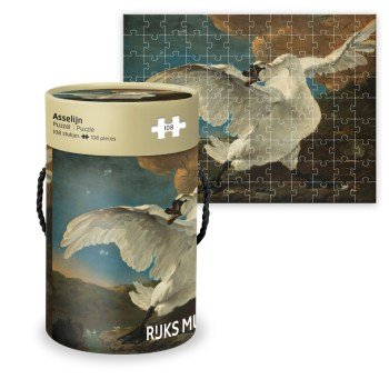 "Puzzle Asselijn ""The Threatened Swan"""