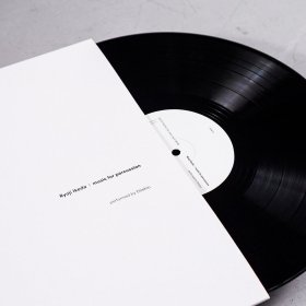 Ryoji Ikeda, Music For Percussion, Vinyl