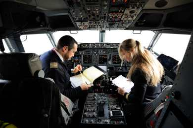 flight school selection process