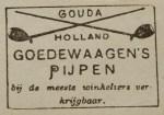 Old Goedewaagen advertisement