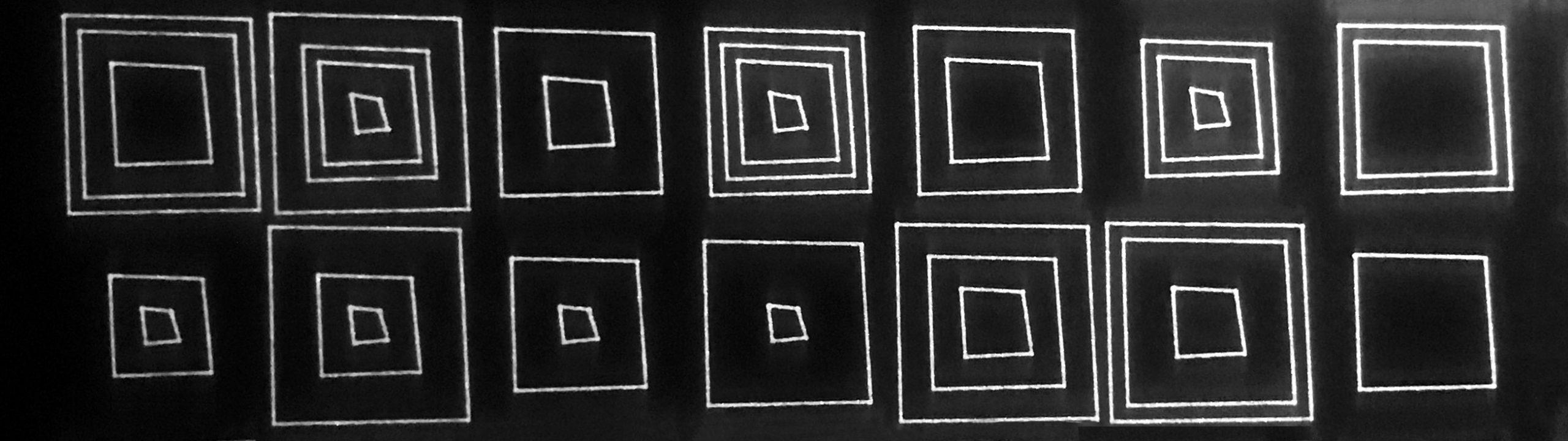 Vierkanten met ruis